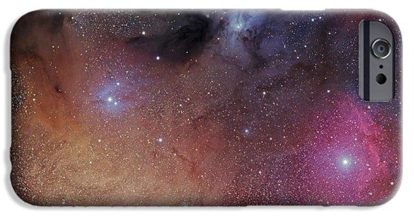 Stellar iPhone Cases - The Starforming Region Of Rho Ophiuchus iPhone Case by Phillip Jones