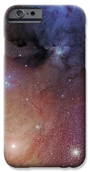 The Starforming Region Of Rho Ophiuchus iPhone Case by Phillip Jones