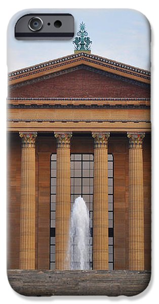 The Steps of the Philadelphia Museum of Art iPhone Case by Bill Cannon