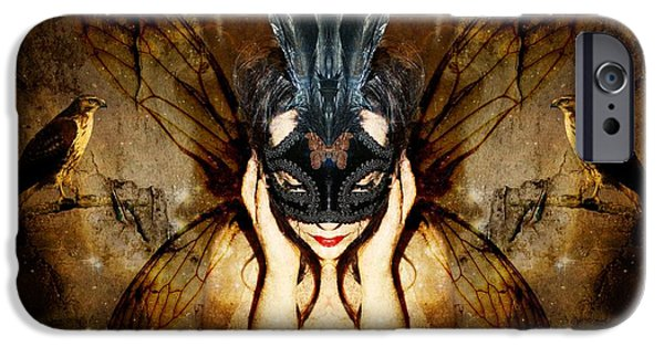 Butterfly Prey iPhone Cases - The story of what I came to be iPhone Case by Heather King