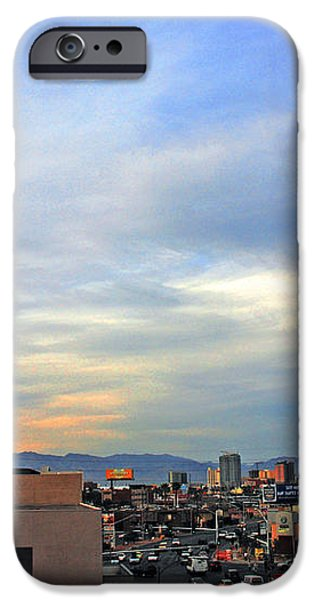 The Stratosphere in Las Vegas iPhone Case by Susanne Van Hulst