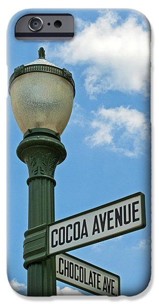 Hershey iPhone Cases - The Sweetest Street Corner in the World iPhone Case by Paul W Faust -  Impressions of Light