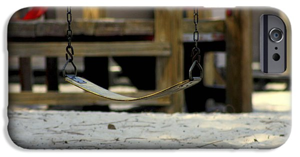 Missing Child iPhone Cases - The Swing iPhone Case by Debra Forand