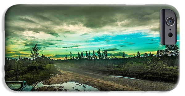 Clouds Tapestries - Textiles iPhone Cases - The Takeover iPhone Case by James Hennis