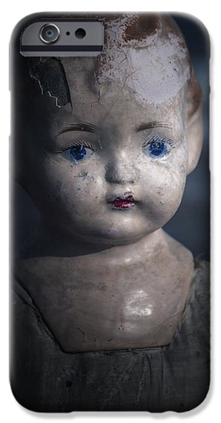 Old Blue Eyes iPhone Cases - the things Ive seen iPhone Case by Joana Kruse