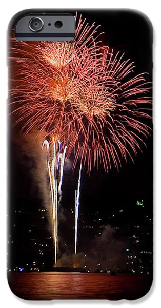 4th July Photographs iPhone Cases - The Three Daisies iPhone Case by David Patterson