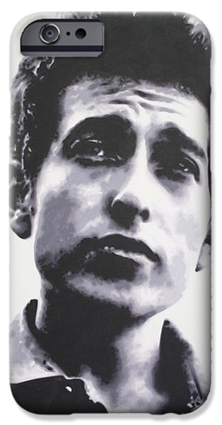 Civil Rights Paintings iPhone Cases - The Times They Are A Changin  2013 iPhone Case by Luis Ludzska