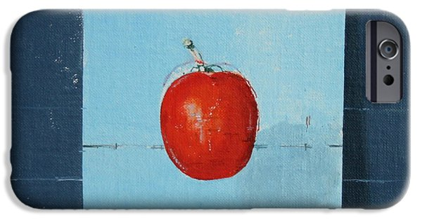 Hovering iPhone Cases - The Tomato iPhone Case by Charlie Millar