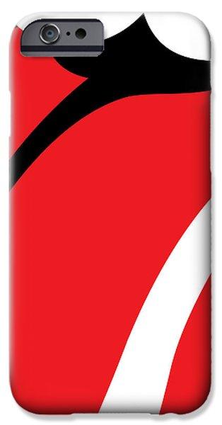The Tongue No.01 iPhone Case by Caio Caldas