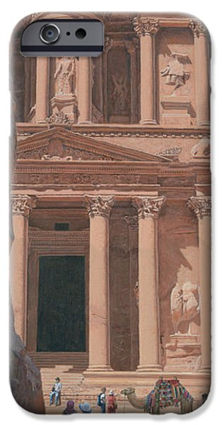 Richard iPhone Cases - The Treasury Petra iPhone Case by Richard Harpum