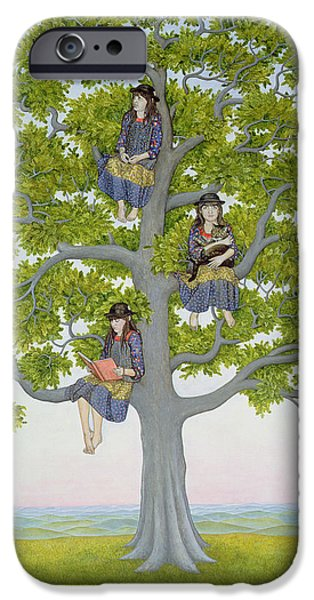 Sit-ins iPhone Cases - The Tree iPhone Case by Ditz