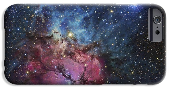 Recently Sold -  - Stellar iPhone Cases - The Trifid Nebula iPhone Case by R Jay GaBany