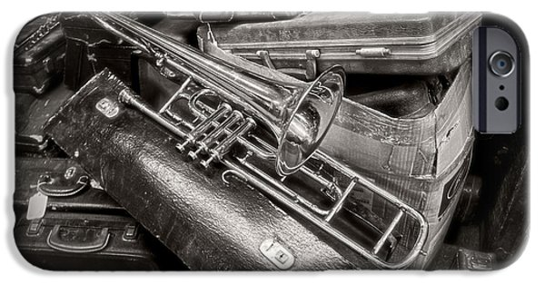 Chicago iPhone Cases - The Trumpet Will Sound iPhone Case by Lucinda Walter