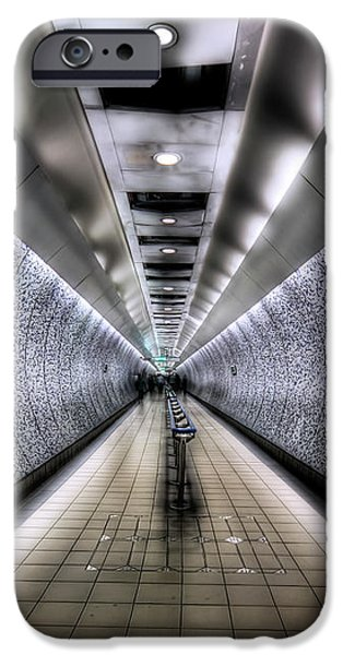 The Tube iPhone Case by Evelina Kremsdorf
