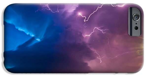 Nebraska iPhone Cases - The Twilight Meso iPhone Case by Chris  Allington