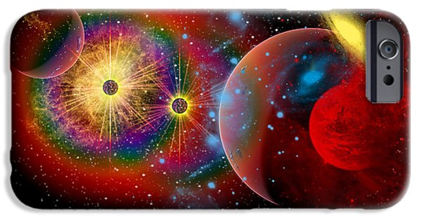 Recently Sold -  - Stellar iPhone Cases - The Universe In A Perpetual State iPhone Case by Mark Stevenson