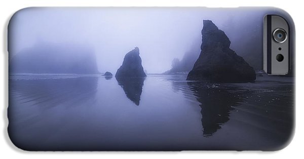 Beach Landscape iPhone Cases - The Unknown iPhone Case by Peter Coskun