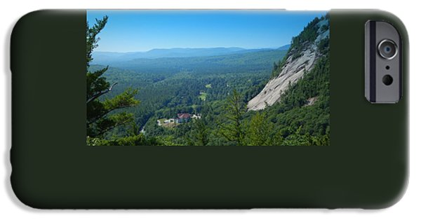 Ledge iPhone Cases - The view from above iPhone Case by Karen Cook
