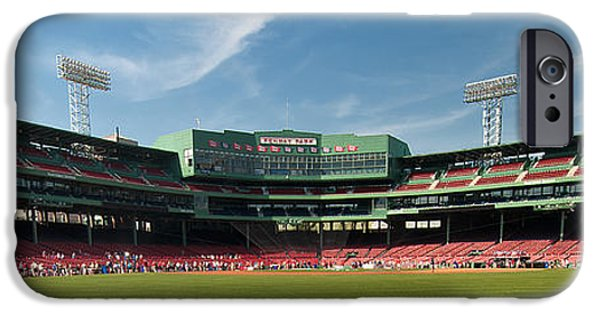 Red Sox iPhone Cases - The View From Center iPhone Case by Paul Mangold