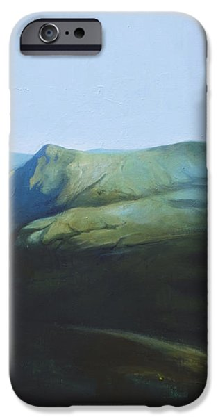 The View from Mount Tron iPhone Case by Lin Petershagen