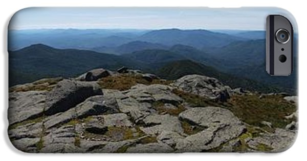 Upstate New York iPhone Cases - The View North from Mt. Marcy iPhone Case by Joshua House