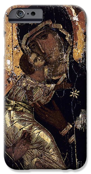 Europe Photographs iPhone Cases - The Virgin Of Vladimir iPhone Case by Granger