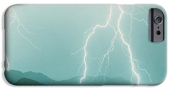 Photography Lightning iPhone Cases - The Walk  iPhone Case by James BO  Insogna