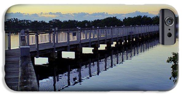 Bay Bridge iPhone Cases - The Walking Bridge iPhone Case by John Wall