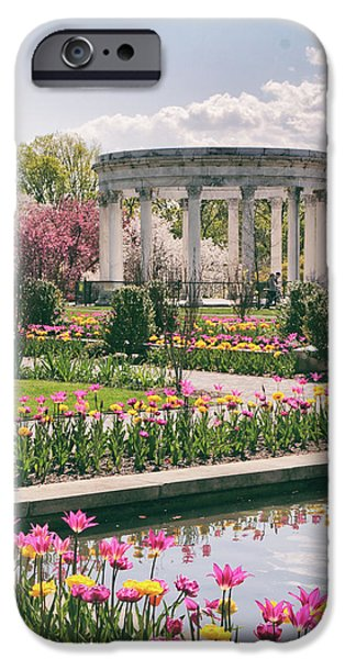 Reflections Of Nature iPhone Cases - The Walled Garden iPhone Case by Jessica Jenney