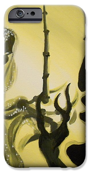 The Wand of Destiny iPhone Case by Lisa Leeman