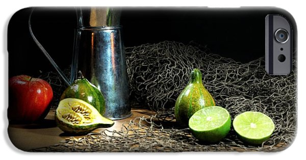 Still Life With Pitcher iPhone Cases - The Water Glove iPhone Case by Diana Angstadt