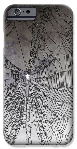 The Web We Weave iPhone Case by Margaret Hamilton