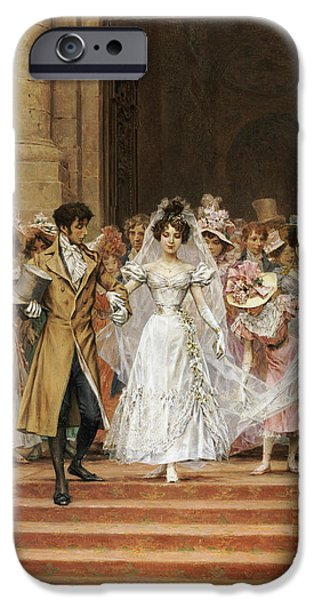 Veiled iPhone Cases - The Wedding iPhone Case by Frederik Hendrik Kaemmerer