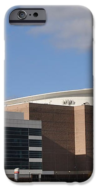 The Wells Fargo Center - Philadelphia  iPhone Case by Bill Cannon