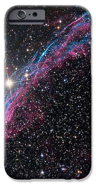 The Western Veil Nebula iPhone Case by Roth Ritter