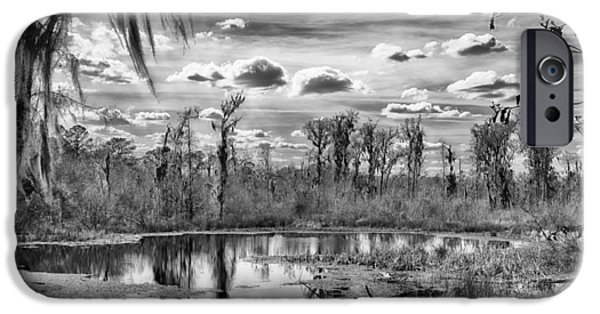 Ocean Sunset iPhone Cases - The Wetlands iPhone Case by Howard Salmon