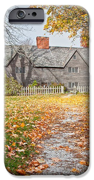 The Whipple House iPhone Case by Susan Cole Kelly