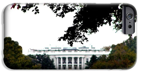 White House iPhone Cases - The White House iPhone Case by Bill Cannon