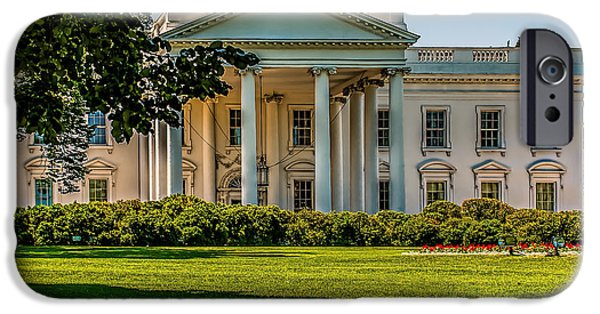 White House iPhone Cases - The White House iPhone Case by Nick Zelinsky