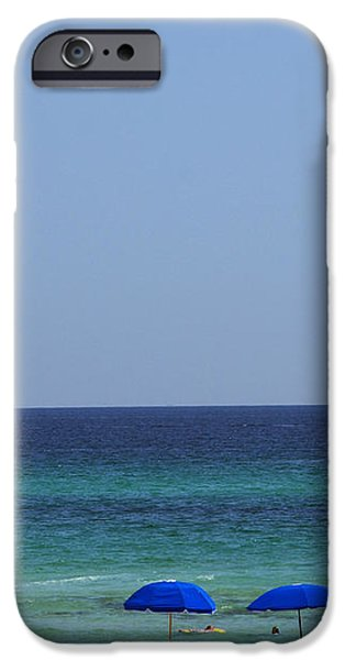 The White Panama City Beach - before the Oil Spill iPhone Case by Susanne Van Hulst