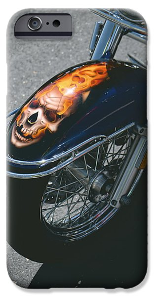Patriots iPhone Cases - The Wild Ride iPhone Case by Lucinda Walter