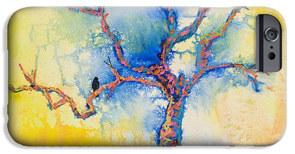 iPhone Cases - The Wind Riders iPhone Case by Pat Saunders-White