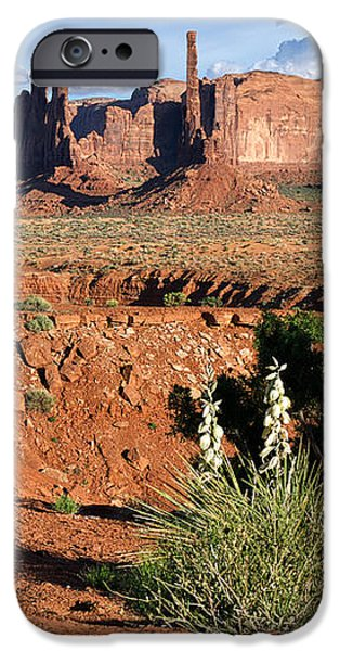 United iPhone Cases - The Yei Bi Chei and Totem Pole in Monument Valley Utah iPhone Case by Mary Lee Dereske