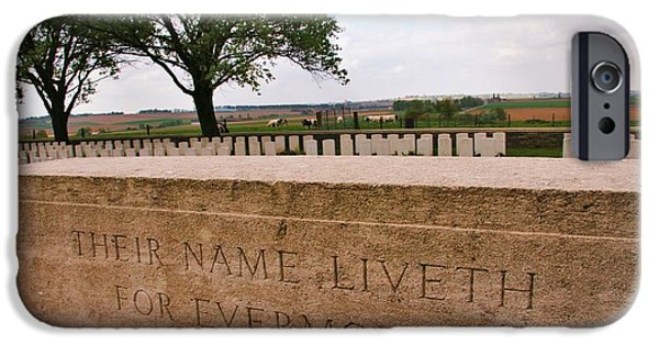 IPhone 6 Case featuring the photograph Their Name Liveth For Evermore by Travel Pics