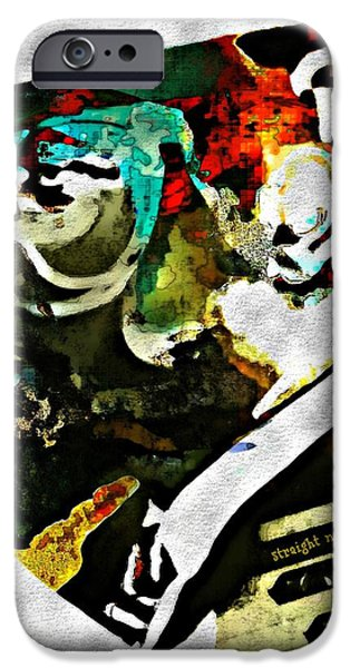 Piano iPhone Cases - Thelonious Monk iPhone Case by Lynda Payton