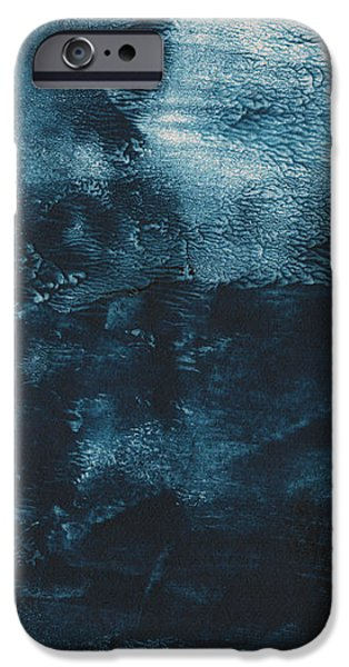 Texture iPhone Cases - There When I Need You- Abstract Art by Linda Woods iPhone Case by Linda Woods