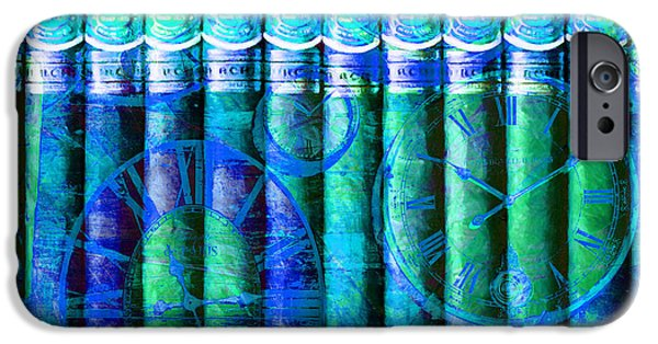 Colorful Abstract iPhone Cases - Theres Always Time For A Good Churchill 20150829 p180 iPhone Case by Wingsdomain Art and Photography