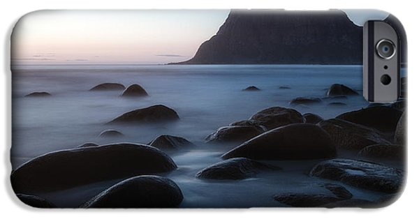 Beach Landscape Photographs iPhone Cases - This aint goodbye iPhone Case by Tor-Ivar Naess