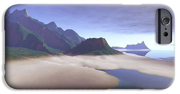 Escape iPhone Cases - This Misty Hawaiin Coastline iPhone Case by Corey Ford