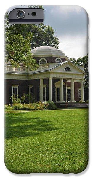 Thomas Jefferson's Monticello iPhone Case by Bill Cannon